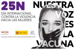 'Nuestra voz es la vacuna', la campaña municipal del 25N elaborada por los más jóvenes