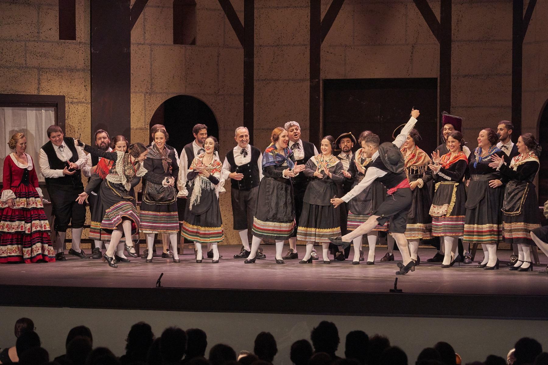 La Compañía Sevillana de Zarzuela regresa al Teatro Lope de Vega