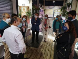 Nuevo sistema de climatización e iluminación en el mercado de San Gonzalo