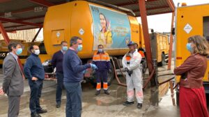 Lipasam ejecuta casi completo el presupuesto de 2020 y refuerza la limpieza de zonas comerciales