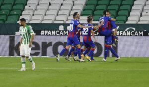 El Real Betis cae ante el Eibar