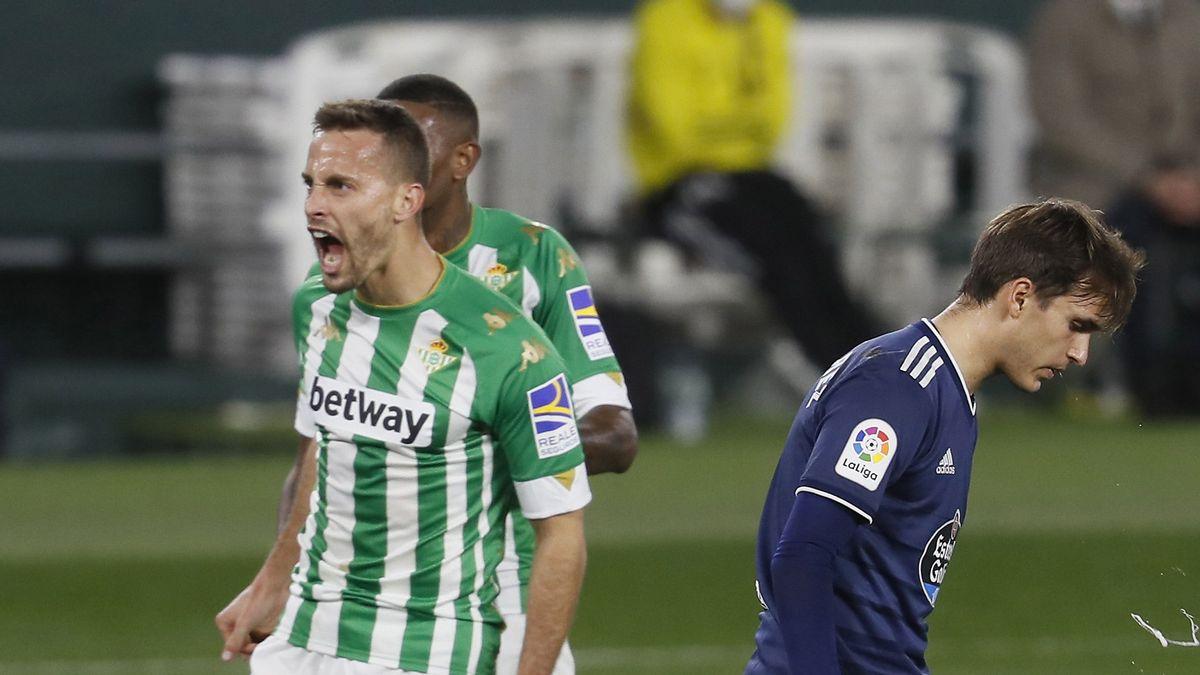 El Real Betis suma una nueva victoria frente al Celta