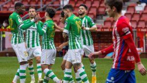 El Real Betis pasa sin sacrificios a octavos de Copa