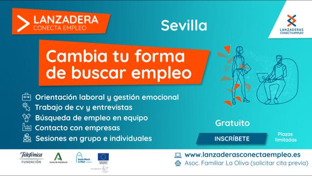Sevilla contará a partir de marzo con una nueva Lanzadera Conecta Empleo