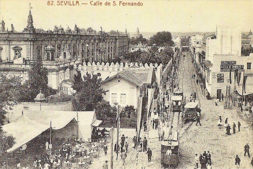 """Las calles """"Reales"""" de Sevilla"""
