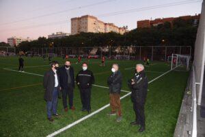 Nuevo campo de fútbol de césped artificial en el Centro Deportivo Andalucía Este