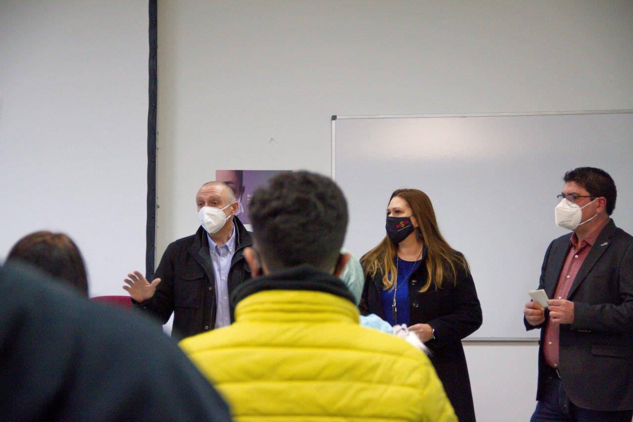Emasesa da la bienvenida a los alumnos de la primera promoción del Grado Medio de Técnico en Redes y Estaciones de Tratamiento de Aguas