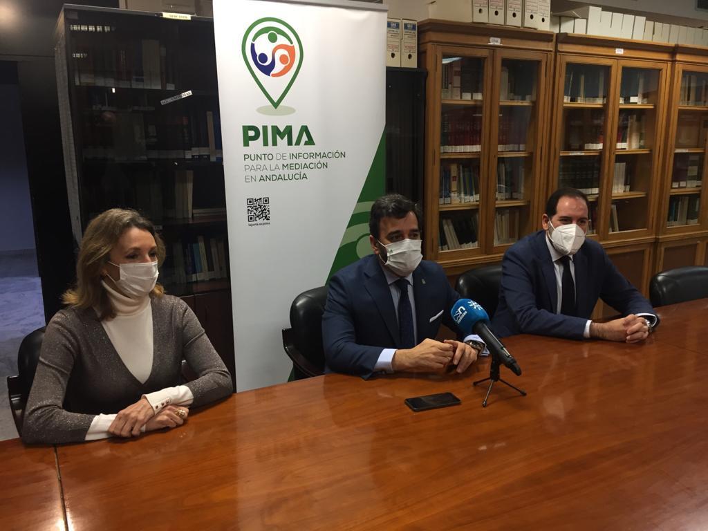 Justicia inaugura el punto de información para la promoción de la Mediación de Sevilla