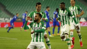 Nueva victoria para el Real Betis