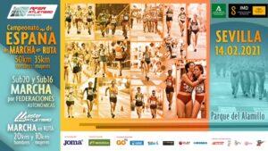 El Parque del Alamillo acogerá este domingo el Campeonato de España de Marcha en Ruta