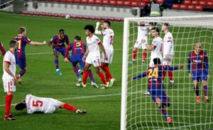 El Sevilla FC se despide de la Copa en la prórroga