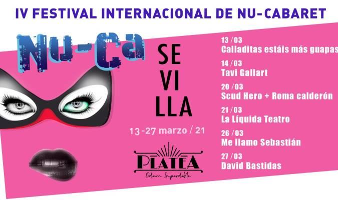 La cuarta edición del NU-CA llega a Sevilla para mostrar las tendencias más vanguardistas del NU-Cabaret