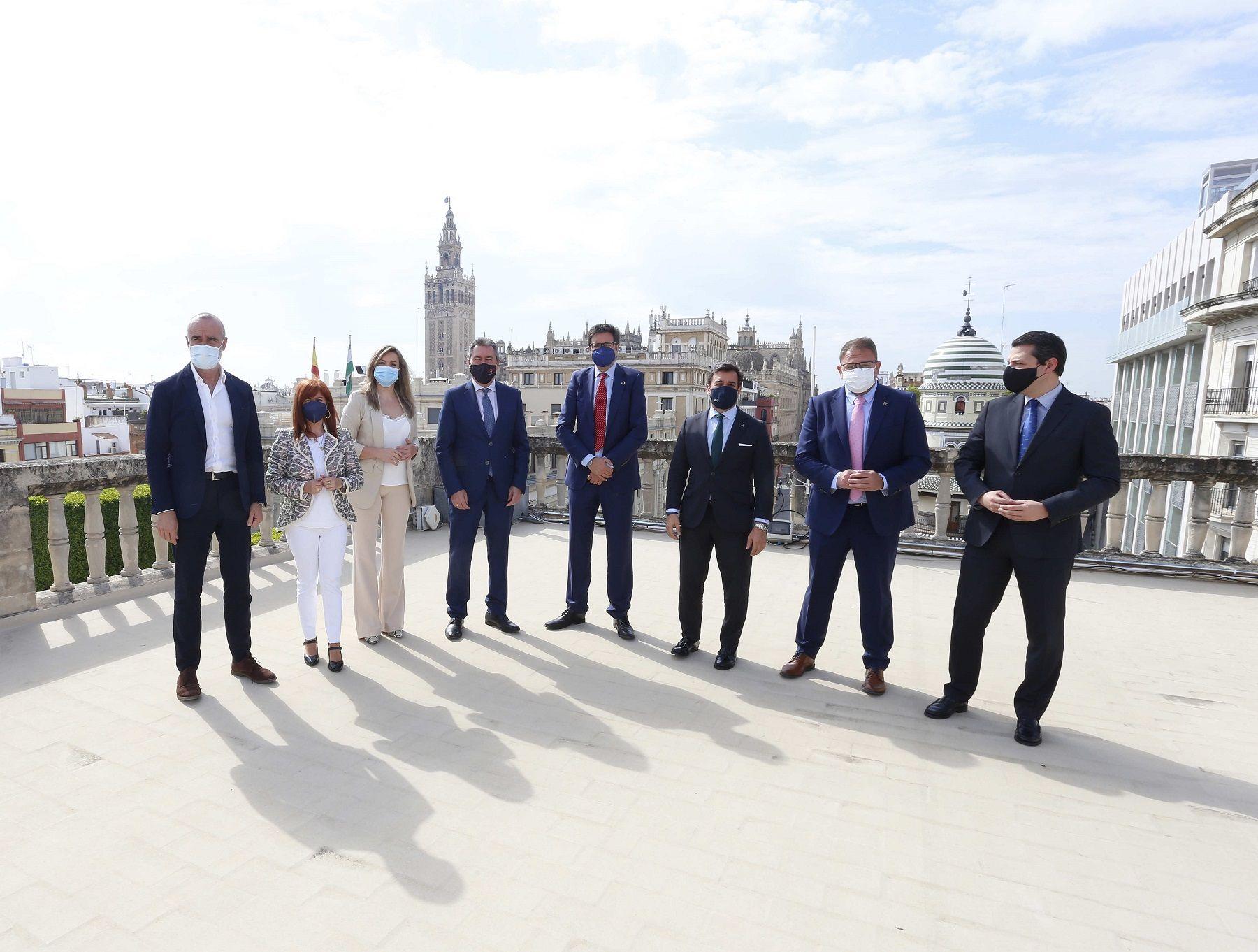 Las 15 Ciudades Patrimonio de la Humanidad en España refuerzan su alianza turística y presentan su oferta promocional en Sevilla
