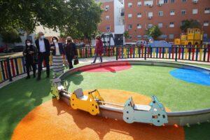 Un solar de la calle Japón de Sevilla Este, se convierte en parque