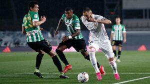 Quinto empate consecutivo del Real Betis