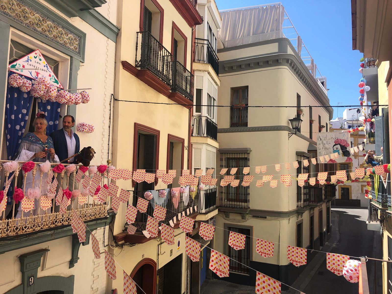 Concurso de escaparates y balcones durante la semana de Feria