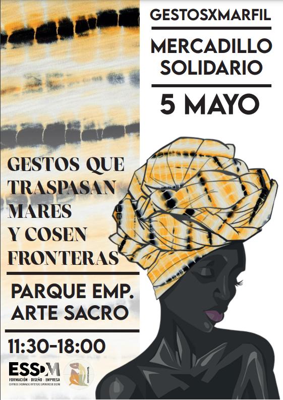 Gestos por Marfil, mercadillo solidario organizado por ESSDM