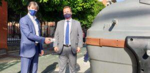 Comienza la implantación progresiva del nuevo sistema de recogida de basura en la Ronda Histórica