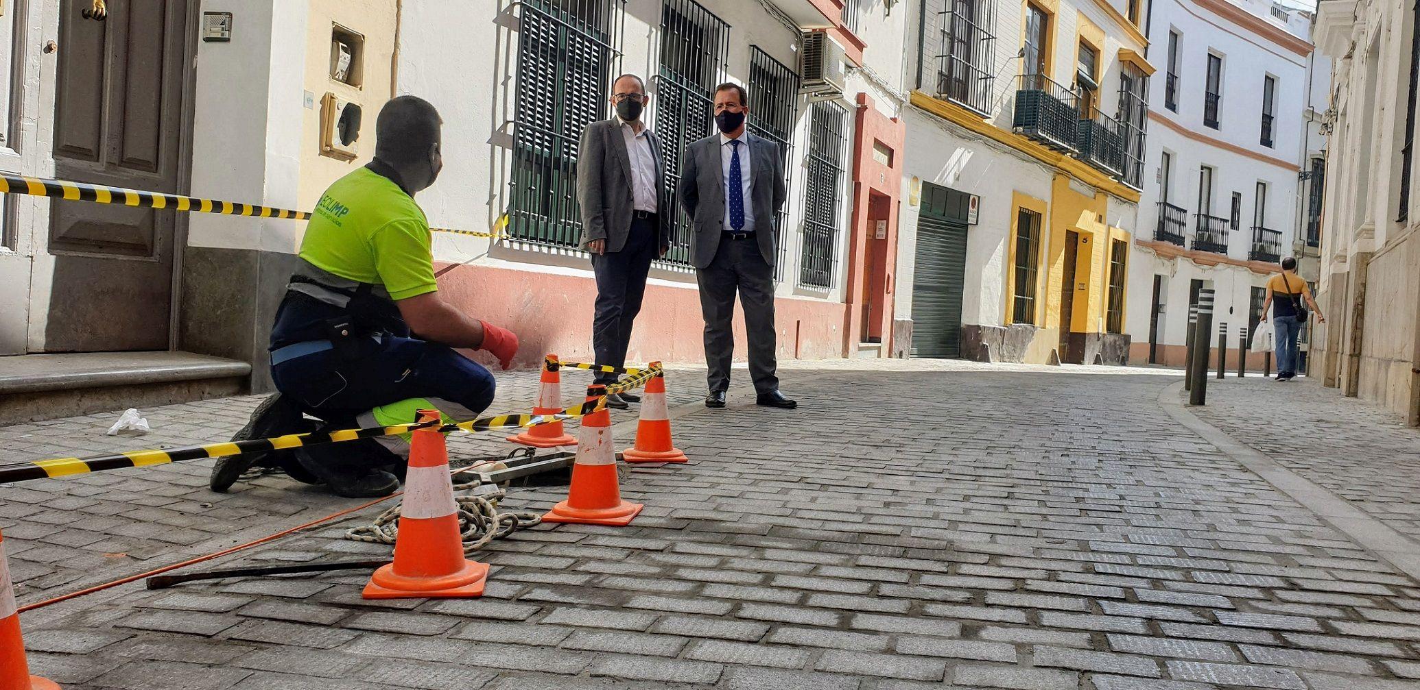 Reabre la calle Dormitorio tras las obras de mejora de accesibilidad universal y sustitución de las redes de saneamiento