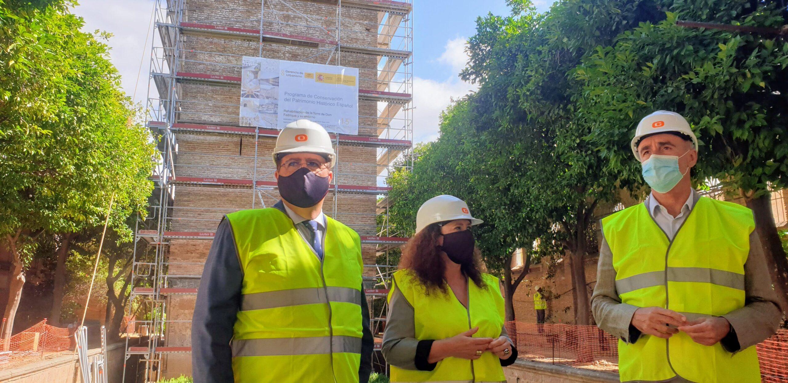 Comienzan las obras de rehabilitación de la Torre Don Fadrique