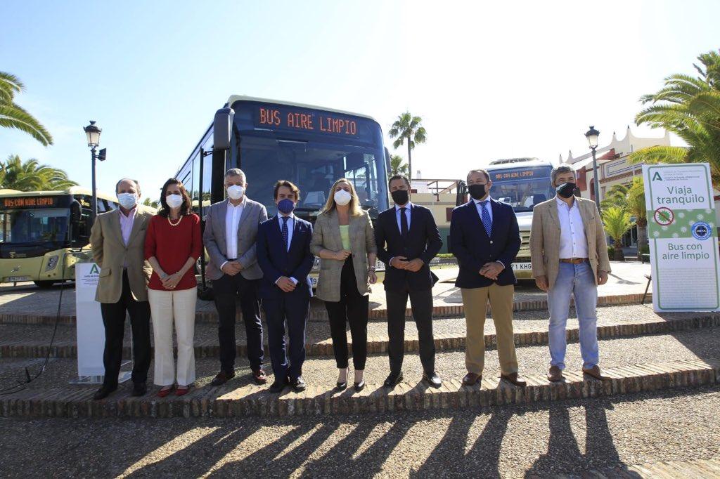 Los autobuses del Consorcio de Transportes del Área Metropolitana de Sevilla contarán con un sistema pionero de purificación de aire