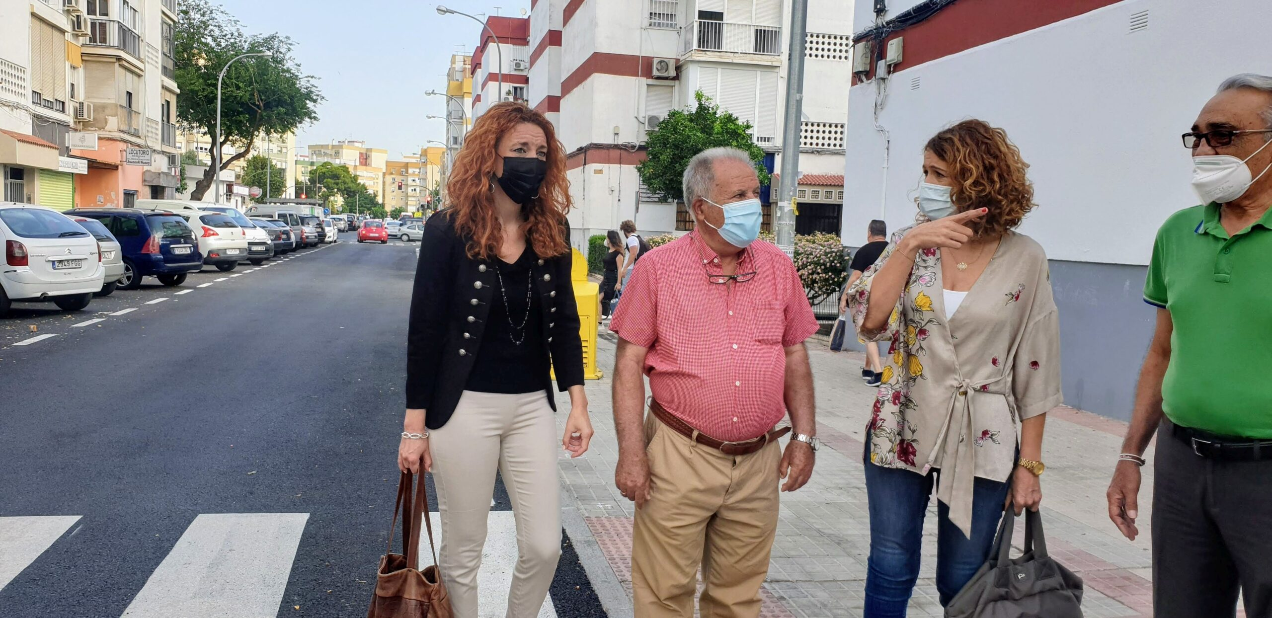 Culmina el asfaltado y ordenación de calles del Distrito Macarena