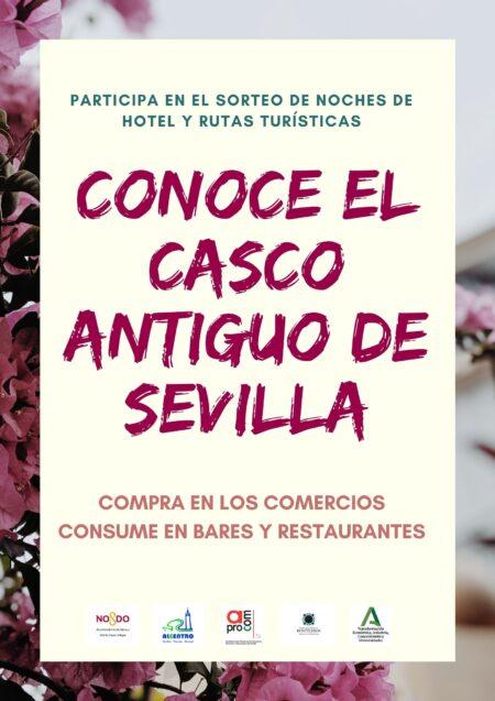 En este momento estás viendo 'Conoce el Casco Antiguo de Sevilla' y gana 2 noches de hotel en Torre Sevilla