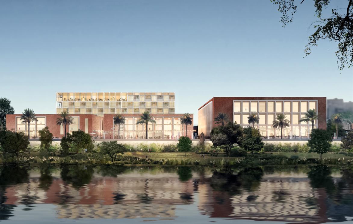 El Ayuntamiento, Altadis y KKH presentan el proyecto para la antigua Fábrica de Tabacos de Los Remedios