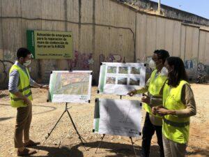 Lee más sobre el artículo La Junta repara el muro de contención de la carretera que conecta la A-92 con la SE-30