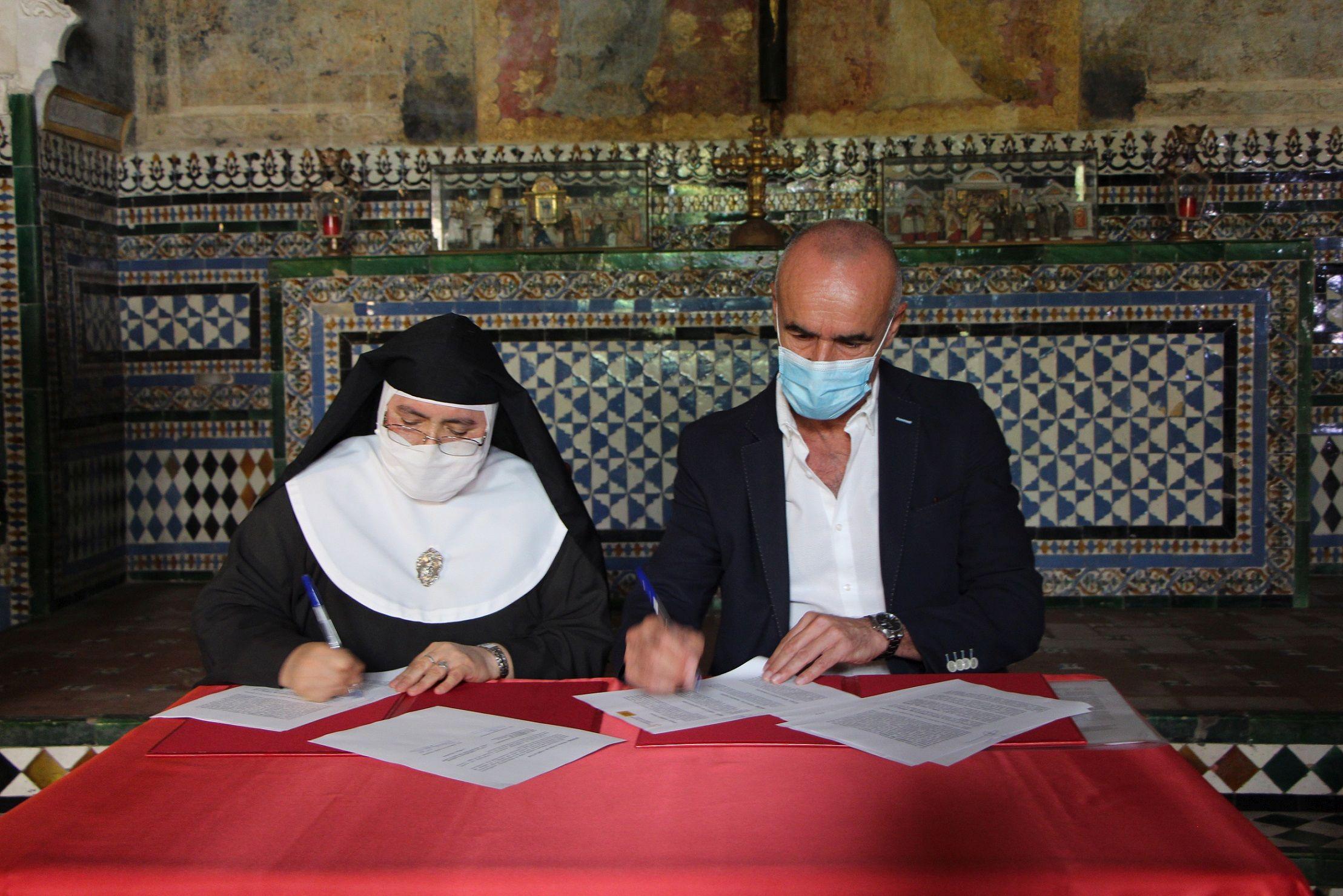 En este momento estás viendo El Ayuntamiento aportará 40.000 euros al Convento de Santa Inés para un nuevo proyecto de restauración