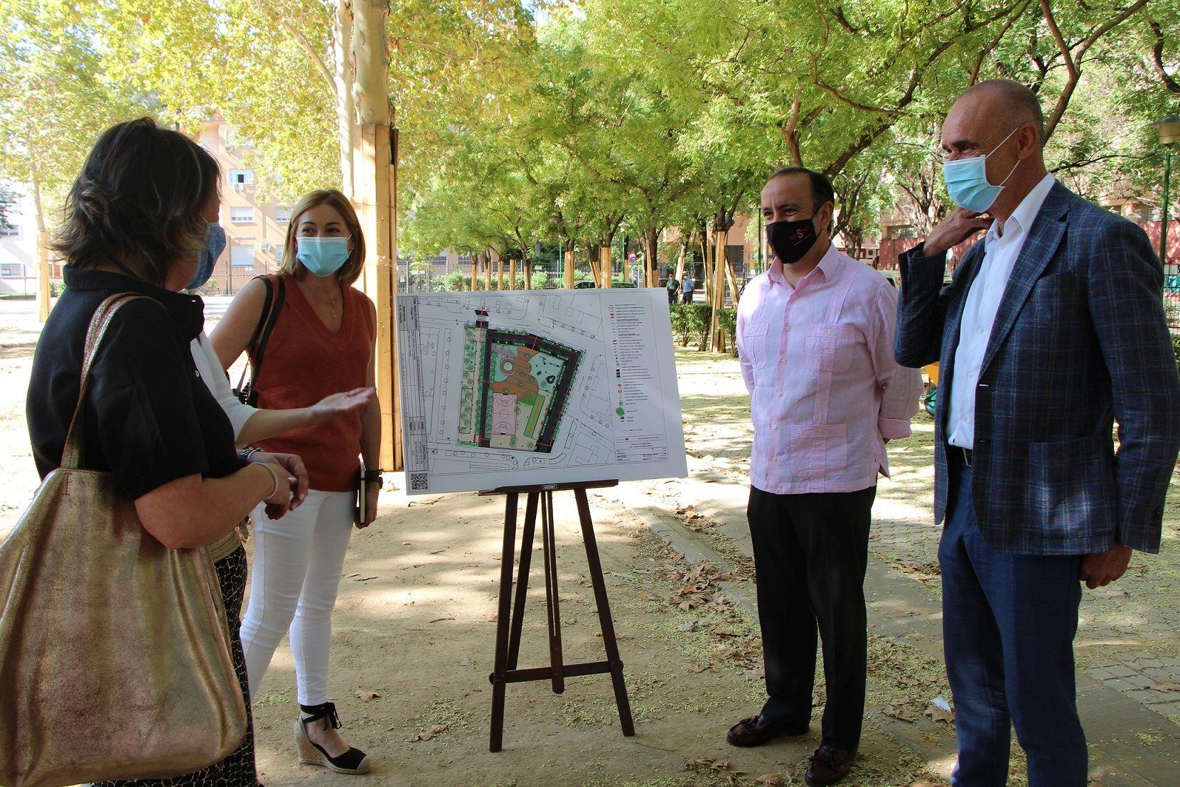 En este momento estás viendo Comienza la transformación del Parque Blanco White de Nervión con una inversión de 533.000 euros