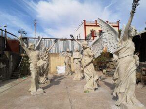 Lee más sobre el artículo Las Victorias Aladas del Parque de María Luisa recuperan su aspecto original de hace más de un siglo
