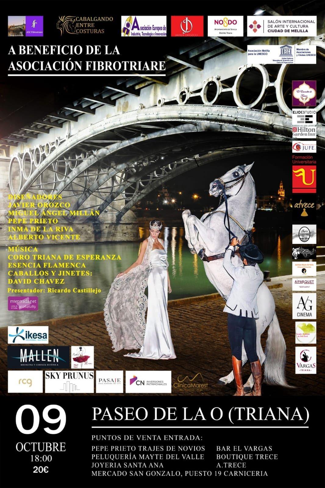 En este momento estás viendo 'Cabalgando entre Costuras', un evento benéfico que fusiona moda y arte en el Paseo de la O