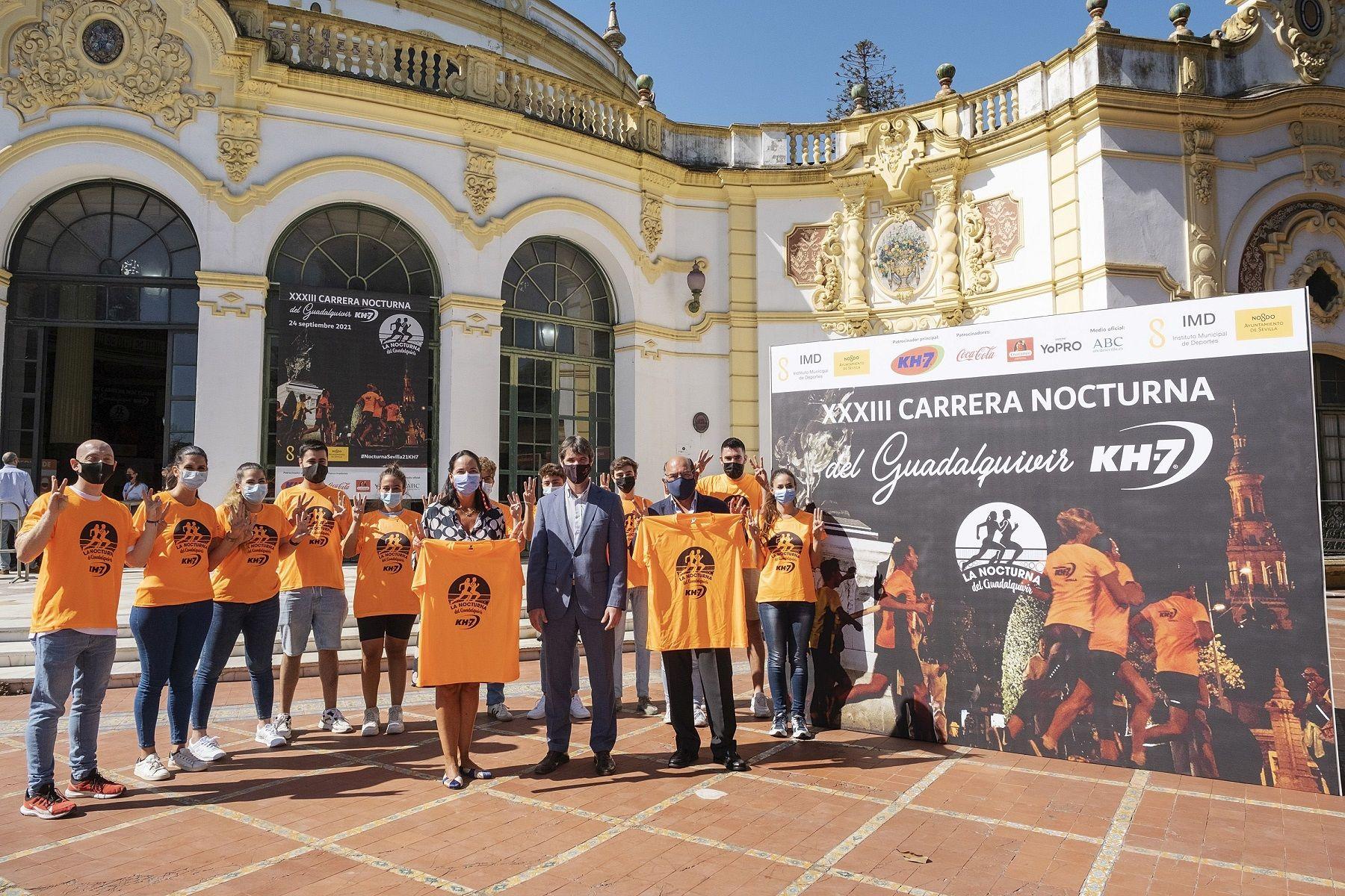 La KH-7 Nocturna del Guadalquivir será uno de los mayores eventos deportivos en España tras la pandemia