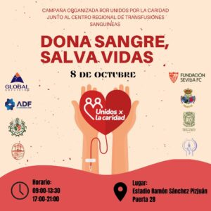 Lee más sobre el artículo Hoy, dona sangre en el Sánchez Pizjuán