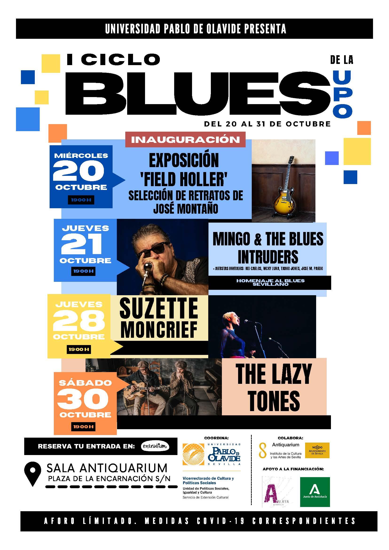 El blues llega al Antiquarium de la mano de la Universidad Pablo de Olavide