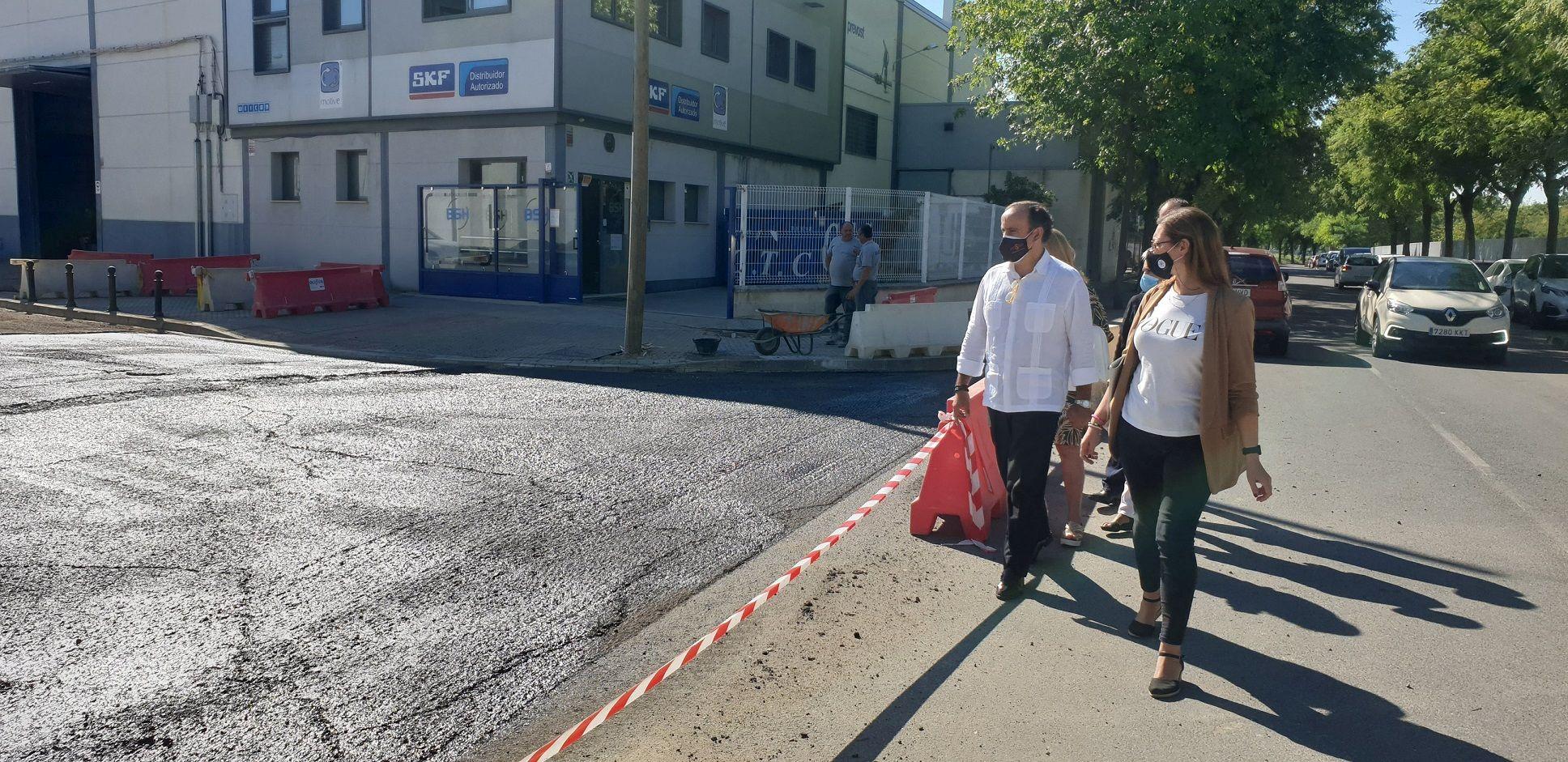 En este momento estás viendo Obras de mejora en los parques empresariales de Store, La Negrilla y Carretera Amarilla