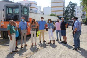 Lee más sobre el artículo Obras de mejora en acerados y calzadas del distrito Macarena con una inversión de 100.000 euros