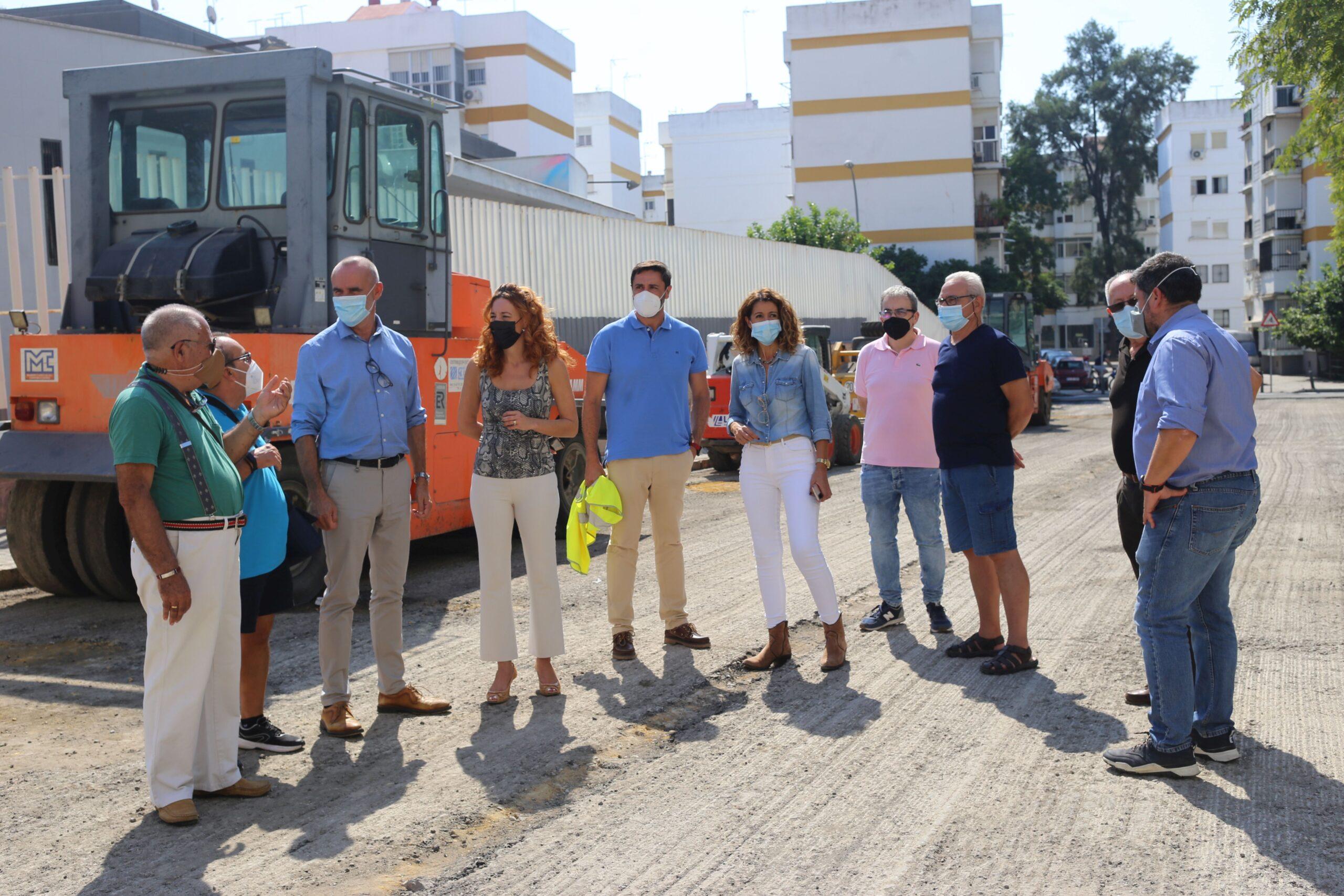 En este momento estás viendo Obras de mejora en acerados y calzadas del distrito Macarena con una inversión de 100.000 euros