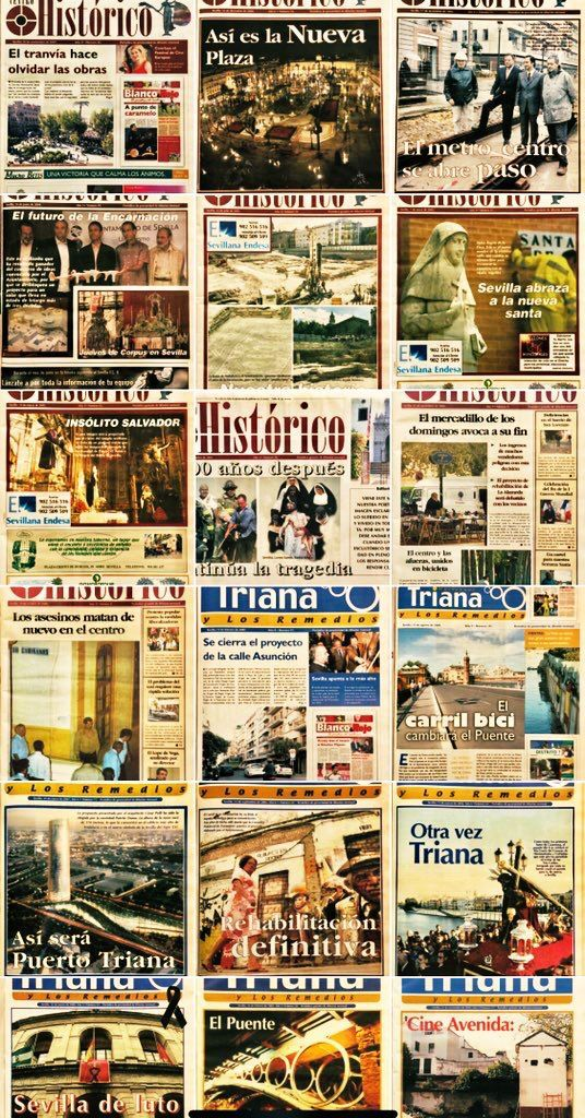 21 Aniversario de centrohistorico.info contando Sevilla